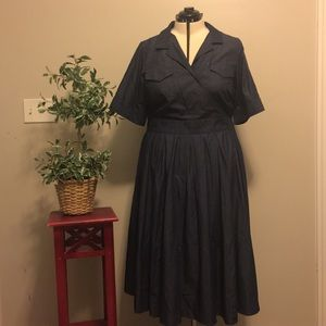 Eshakti Denim Dress 2